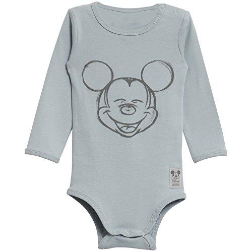 Wheat Body Happy Mickey, Azul (Sky 1527), 62 cm (Talla del Fabricante: 3M) Unisex bebé