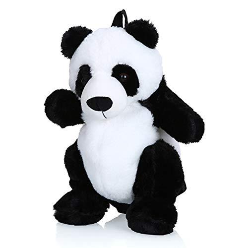 Sonline Style CoréEn Sacs pour Enfants Nouveau Style Sac à Dos Mignon Panda Petit Sac à Dos Mode Gar?Ons et Filles Dessin Animé Sac en Peluche