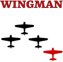 Red Wingman Ultimate Dual Working Notebook: Hybrid Half Dot Graph / Half Blank Line Composition Journal
