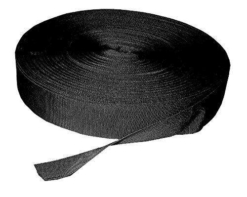 Euro Trail Sangle/Lot ruban réparation lave-vaisselle schnall Sangle Noir 25 mm / 50 mtr
