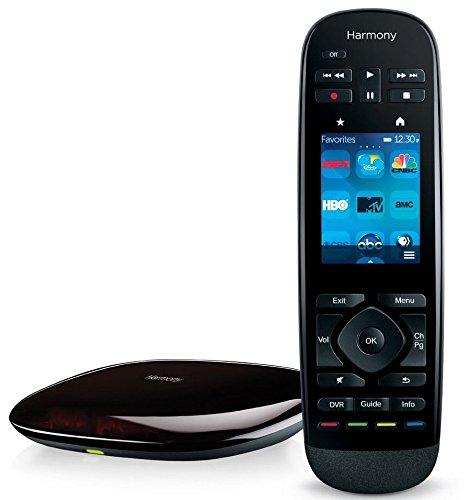 Télécommande tout-en-un Harmony Ultimate de Logitech avec écran tactile personnalisable et commande RF à armoire fermée - Noir