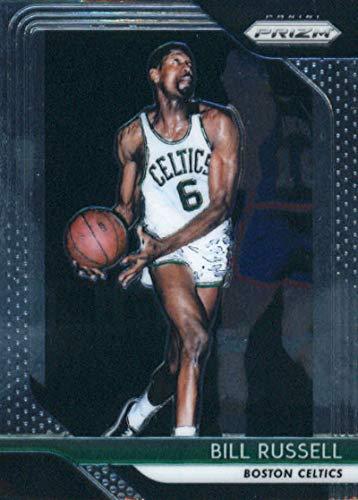 2018-19 Panini Prizm #25 Bill Russell Boston Celtics Basketball Card