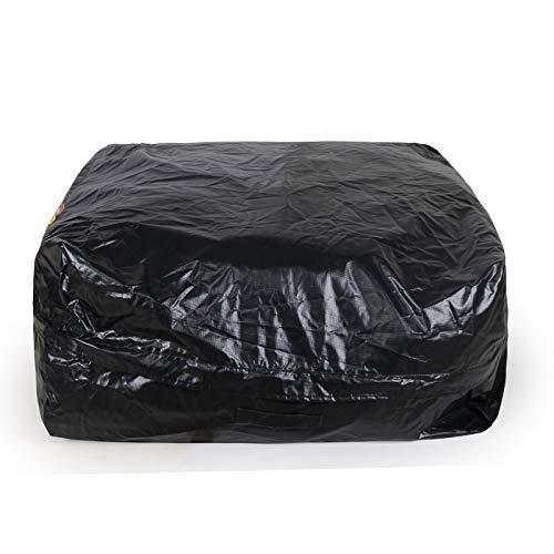 FZKJJXJL Wasserdichte Auto-Dachträger-Dach-Cargo-Bag-Box Weiche Dach-Gepäckträger Mit Breiten Gurten Am Besten Für Reisen Autos Vans SUV,100 * 100 * 45cm