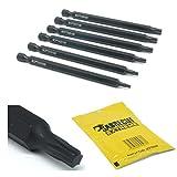 SabreCut SCPTX100 - Puntas de destornillador Torx (6 unidades, T10, T15, T20, T25, T27, T30 x 100 mm)