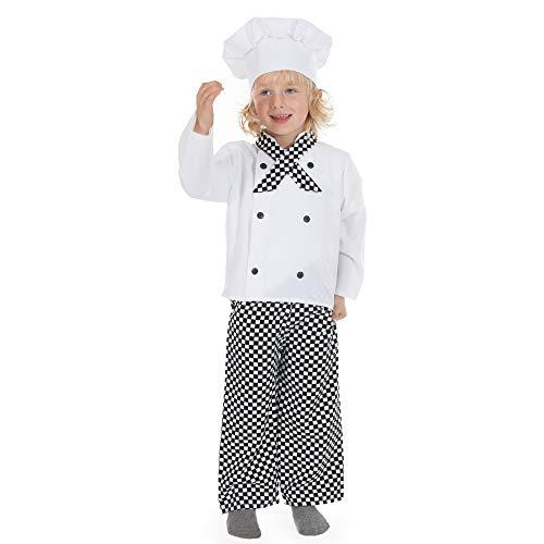 Garçons Enfants Filles ou Chef / Cuisinier Déguisements Costumes 5-7 ans [Jouet]