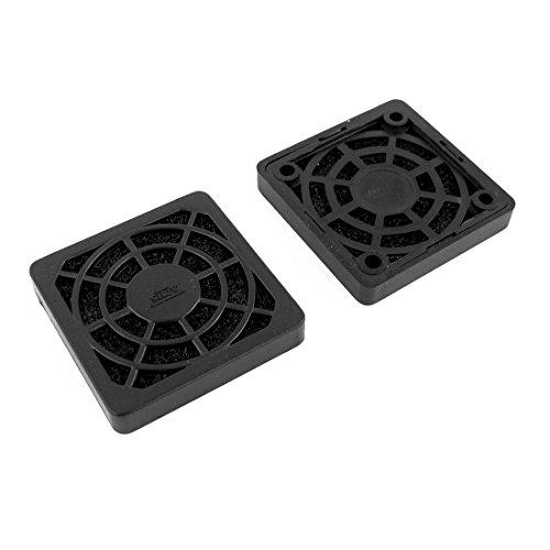Sourcingmap® 2 Pcs Plastik quadratisch Staubdicht Luftfilter Filter 40mm PC Case Lüfter Mesh de