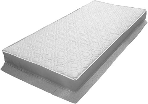Katy 132 x 70 cm Fully Bound with **Taped Edged** Luxury Sprung Spring Interior Mattress – Will Fit All The New Boori Range Cot Beds Manufactured from FEB 2015