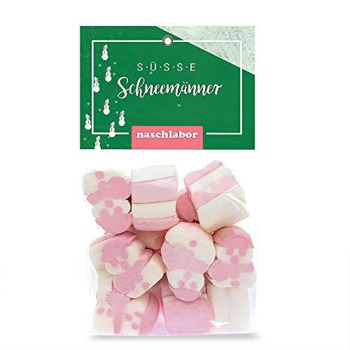 naschlabor Süße Schneemänner Marshmallow