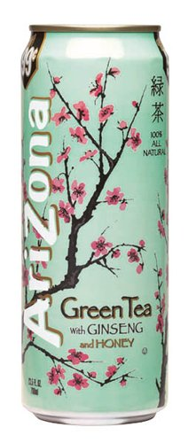 Arizona Green Tea with Ginseng and Honey 24x 680ml inkl. DPG-Pfand