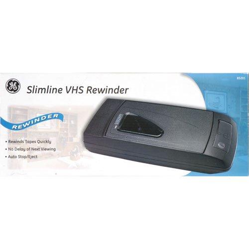 General Electric Slimline 1-Way VHS Rewinder, #85201