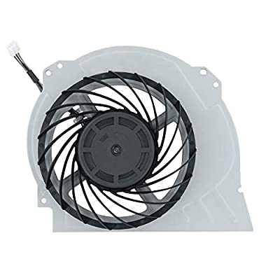 Mcbazel Internal Cooling Fan Replacement Part for PS4 Pro 7000-7500 Model Game Console with Unlock Kit