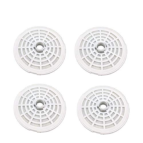 shinea 4 Pack 1.6L Pet Fountain Replacement Filters(Only Suitable for 1.6L Fountain)