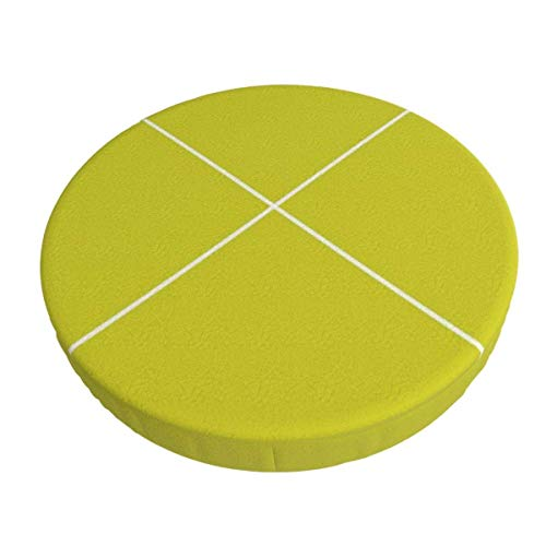 Round Bar Stools Cover,Chartreuse-Pfeil,Stretch Chair Seat Bar Stool Cover Seat Cushion Slipcovers Chair Cushion Cover Round Lift Chair Stool