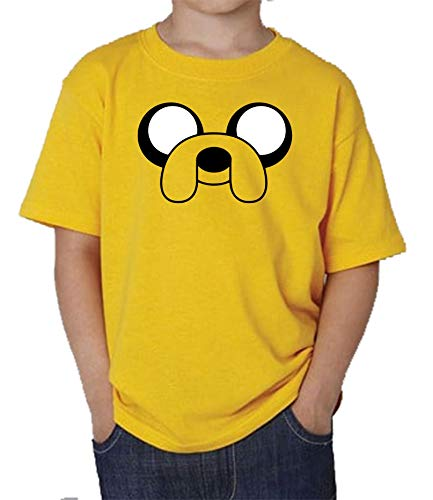 The Fan Tee Camiseta de NIÑOS Hora de Aventuras Jake Finn 012 7-8 años