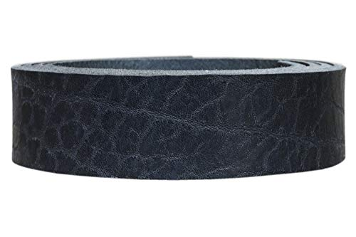 Vollrindleder Lederriemen Nevada, 4mm dickes Vollleder in 9 Oberflächen, Breite:2cm, Farbe:schwarz vintage