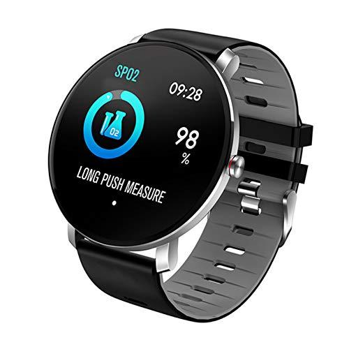 Reloj De Reloj Inteligente Ultra Delgado IP68 Deportes Impermeables Deportes Smartwatch Hombre Reloj Monitor De Ritmo Cardíaco Monitor Aptitud Pulsera Reloj Inteligente K9,E