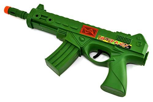 ARUNDEL SERVICES EU Mitragliatrice Giocattolo Fucile d\'assalto Pistola Giocattolo con Suoni e luci Fucile Soldato Esercito Pistola Giocattolo Mitragliatrice