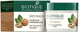 Biotique Bio Walnut Purifying & Polishing Scrub For Normal To Dry Skin , 50G