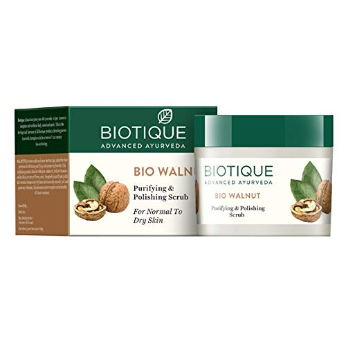 Biotique Walnut Purifying and Polishing Scrub for Normal to Dry Skin