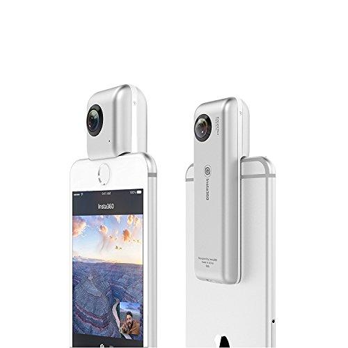Insta360 Nano Compact Mini 360 Degree Panorama Camera 3K HD Video - 2