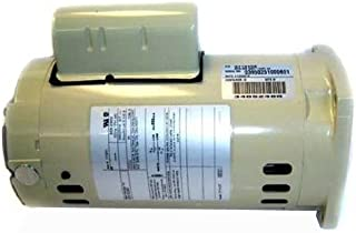 Pentair 356630S Almond 1 HP 3-Phase Single Speed Square Flange Motor Replacement Inground Pool and Spa Pump