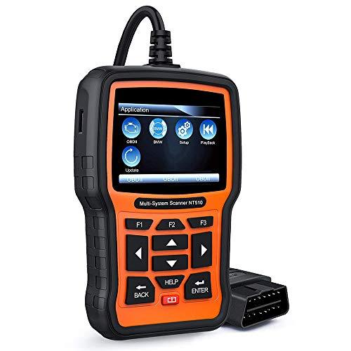 NT510 OBD2-Scanner Auto-Codeleser Alle System-Kfz-Diagnosescanner mit EPB SAS TPS Oil Service Reset Batterieregistrierung