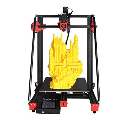 JINSUO 3D Printer Kit Titan Direct Drive, Silent Mainboard, Resume Printing, 3.5 inch L^C^D Touch Screen for Creative Artist (Color : Black)