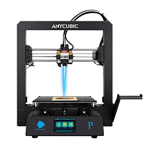 Stampante 3D ANYCUBIC Mega Pro, stampa 3D e incisione laser Stampante 3D FDM a filamento 2 in 1, dimensioni di stampa 210×210×205 mm (dimensioni di incisione 220×140 mm)
