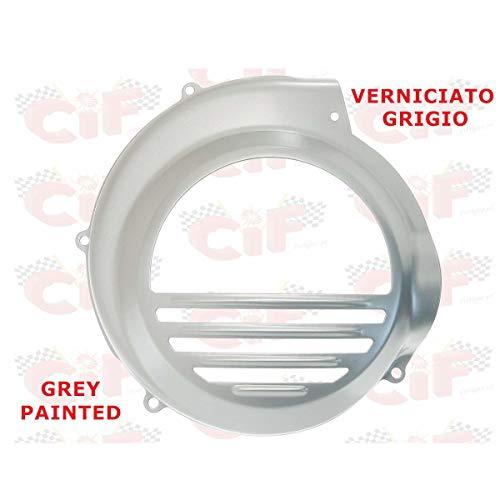 Cubreventilador de hierro pintado gris CIF compatible con Piaggio Vespa PX 200 E