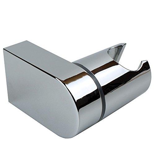 Sanixa JL14SKY Brausehalter - Neigungswinkel verstellbar | ABS verchromt | Wand-Halterung Duschkopf schwenkbar | Wandbefestigung Handbrausen-Halter