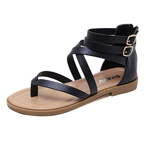 Top 10 best selling list for strappy roman gladiator sandals flats thongs shoes