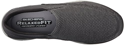 Skechers USA Men's Expected Gomel Slip-on Loafer, Gray, 8.5 M US