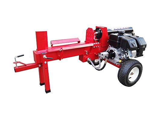 Varan Motors LS12T Vertikaler Holzspalter mit 6,5 PS, 12 Tonnen, bis zu 35 cm Durchmesser, fahrbar