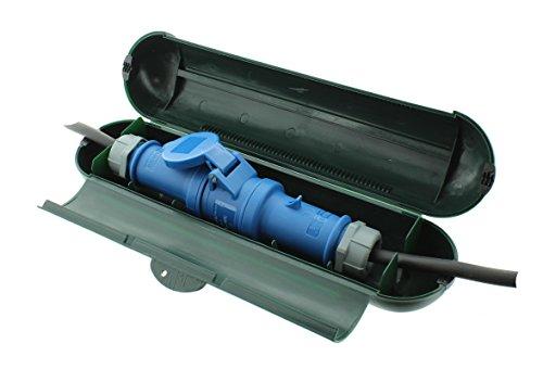 Sicherheitsbox für CEE-Stecker und Kupplungen, Kabelsafe IP44
