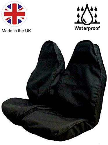 The Urban Company - Fundas de asiento impermeables para Tata Xenon (09-16), color negro