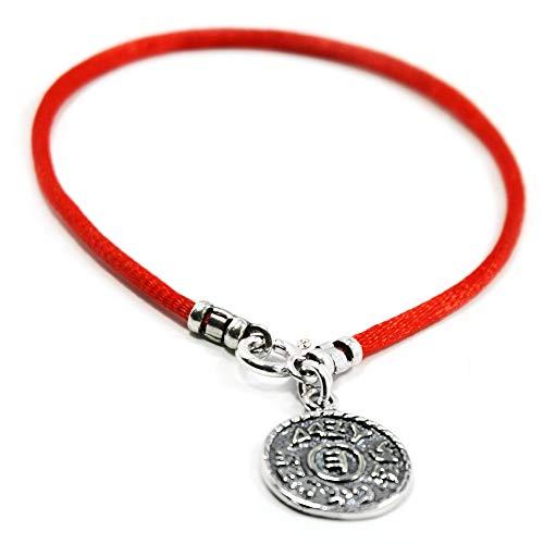 Red string prosperità Solomon Seal Bracelet for Men