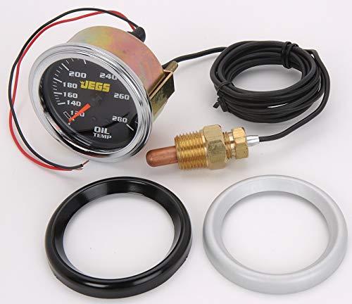 "JEGS 41202 2-5/8"" Mechanical Oil Temperature Gauge"