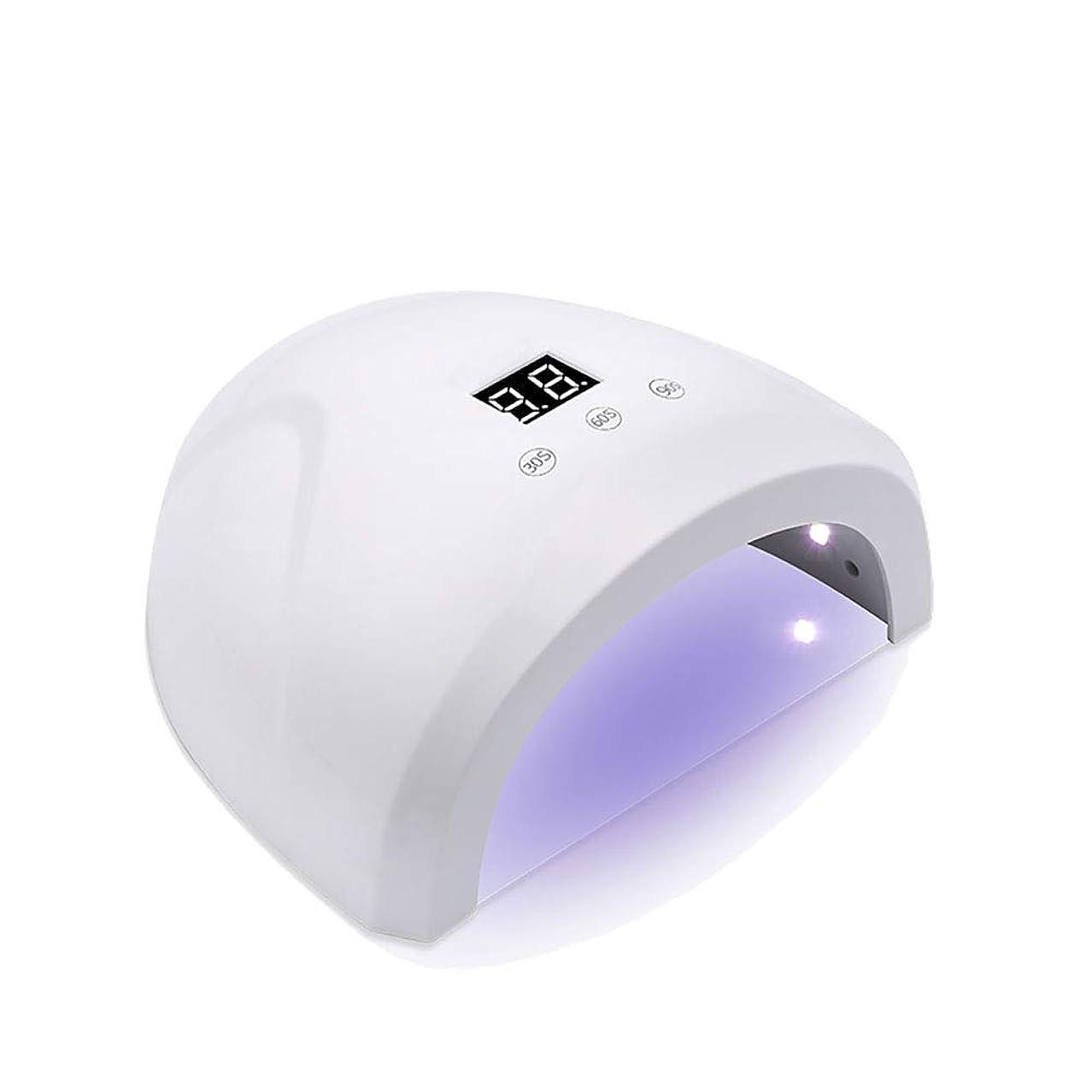 ジャニスいつでもぎこちない釘のドライヤー - 自動赤外線センサー、二重光源のLEDランプのゲルのドライヤーのマニキュアが付いている紫外線携帯用LEDの釘ランプ