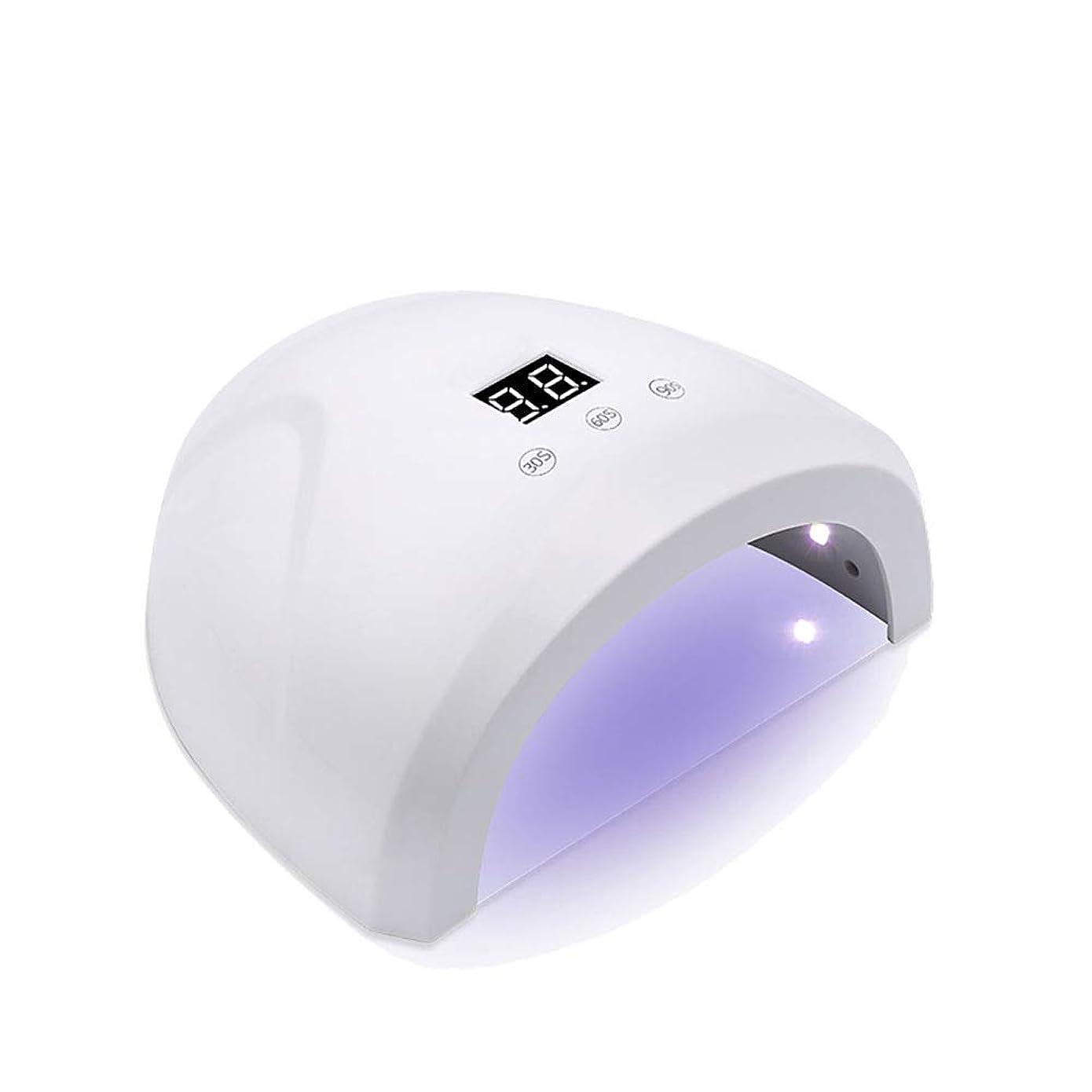 釘のドライヤー - 自動赤外線センサー、二重光源のLEDランプのゲルのドライヤーのマニキュアが付いている紫外線携帯用LEDの釘ランプ