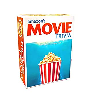 Movie Trivia Party Game  Amazon Exclusive  – Contains Over 800 Questions – 2 or More Players for Ages 12 and up by Outset Media