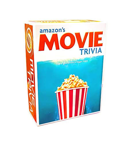 Movie Trivia Party Game (Amazon Exclusive) – Contains Over 800 Questions – 2 or More Players for Ages 12 and up by Outset Media