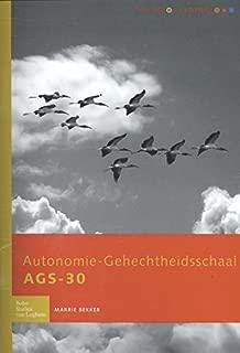 Autonomie Gehechtheidsschaal AGS-30: Handleiding (Dutch Edition)