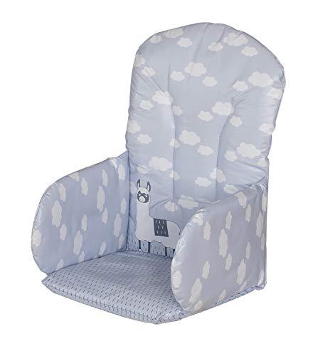Geuther, Coussin d'assise PVC pour Chaise Haute, motif: Lama