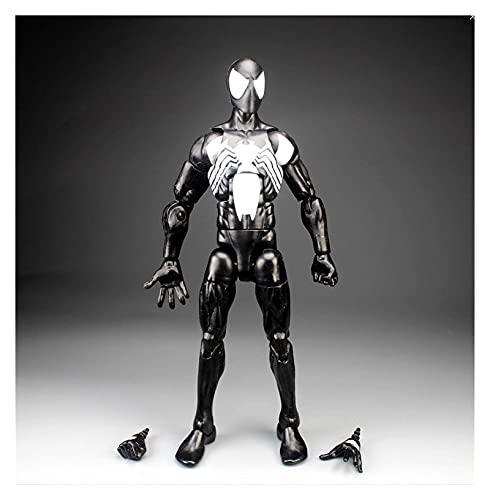 Figura Juguete Legends Tony Pizza Scarlet 2099 Spider-Man Dead-Pool Hydra Action Figure Flow Collection Hot Venta Figura Juguete (Color : Black)