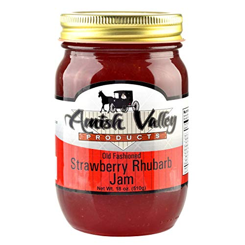 Strawberry Rhubarb Jam - 1