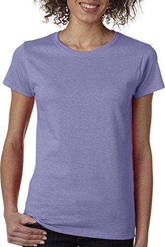 Gildan Heavy Cotton Ladies' T-Shirt, Violet, Large