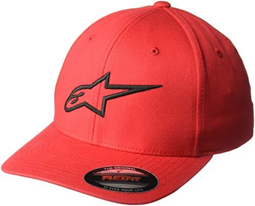 Alpinestars Ageless Curve Hat Gorra de béisbol, Rojo (Red/Black 3010), Large (Talla del Fabricante:...