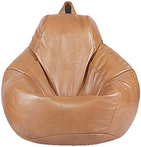 Sitzs e tragbare Kuschelstuhl waschbar Baby Sofa Kinder Schlafzimmer Pelz (Farbe   Brown, Größe   31.5  35.43IN)