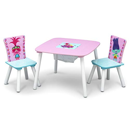 Product Image of the Delta Children Kids Table and Chair Set With Storage (2 Chairs Included) - Ideal...