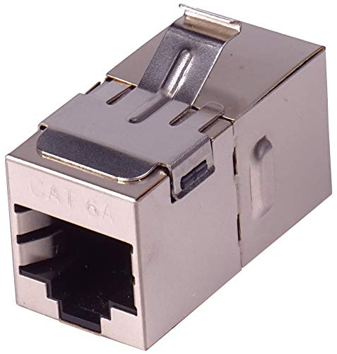 Premium Cord Keystone - Conector RJ45 (Cat. 6A, 8/8)